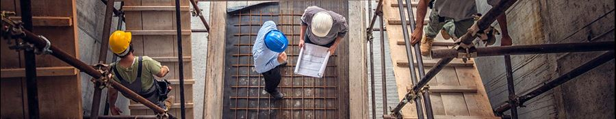 Which building professions use CAD software?