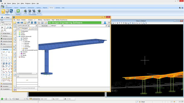 Interoperate with Bridge Analysis Applications
