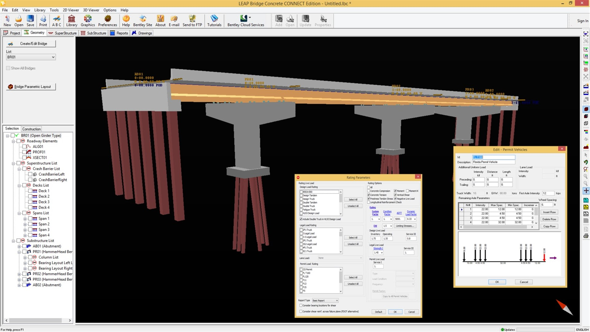 Concrete Bridge Design, Analysis Software – LEAP Bridge Concrete