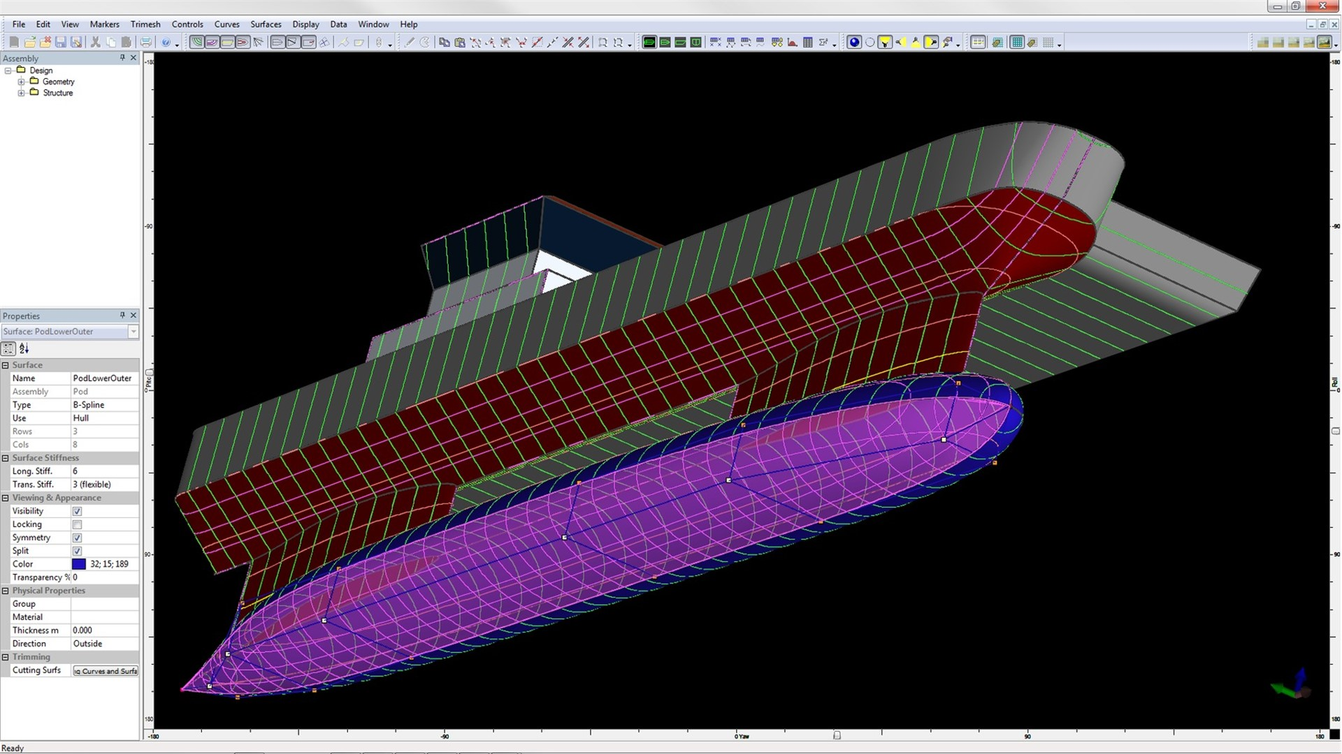 Vessel Hull Design, Naval Architecture Software - MAXSURF