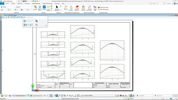 Automate rail drawing production