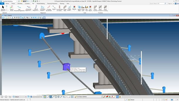 Outline rail track drainage systems