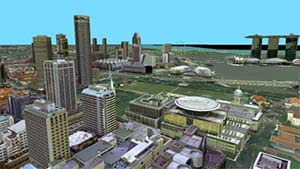 Mapping Singapore in 3D Singapore Land Authority