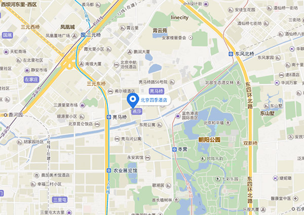 Going Digital 2018 Venue Map Beijing