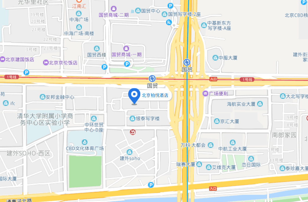 Park Hyatt Beijing map
