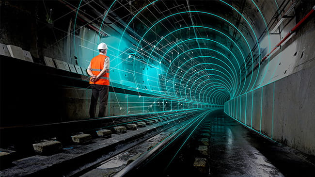 Digital Twin Rail Tunnel