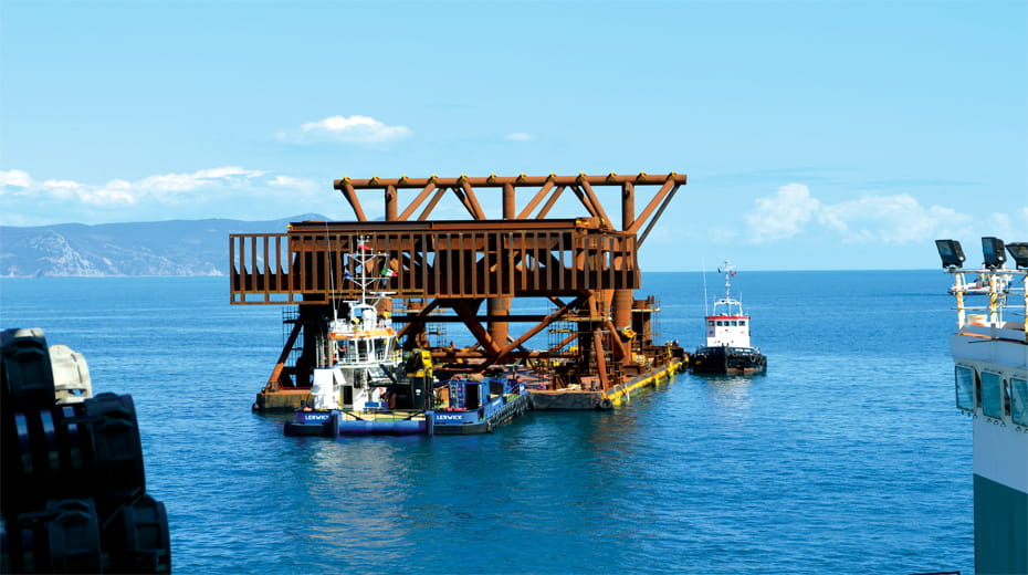 Tecon Costa Concordia removal project