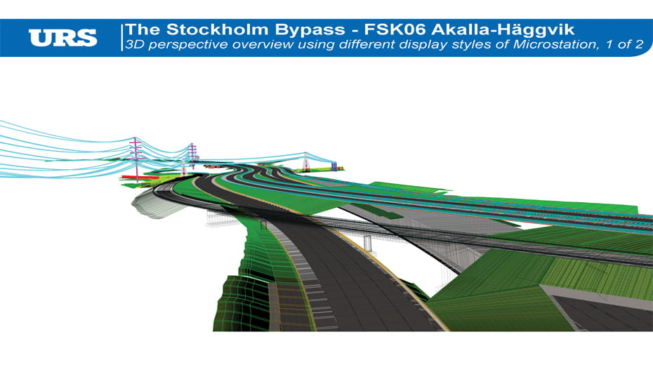 URS corporation AECOM Stockholm Bypass
