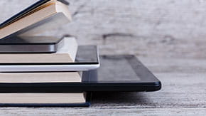 Book and Tablets