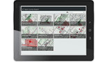 Access maps and geospatial information on field devices