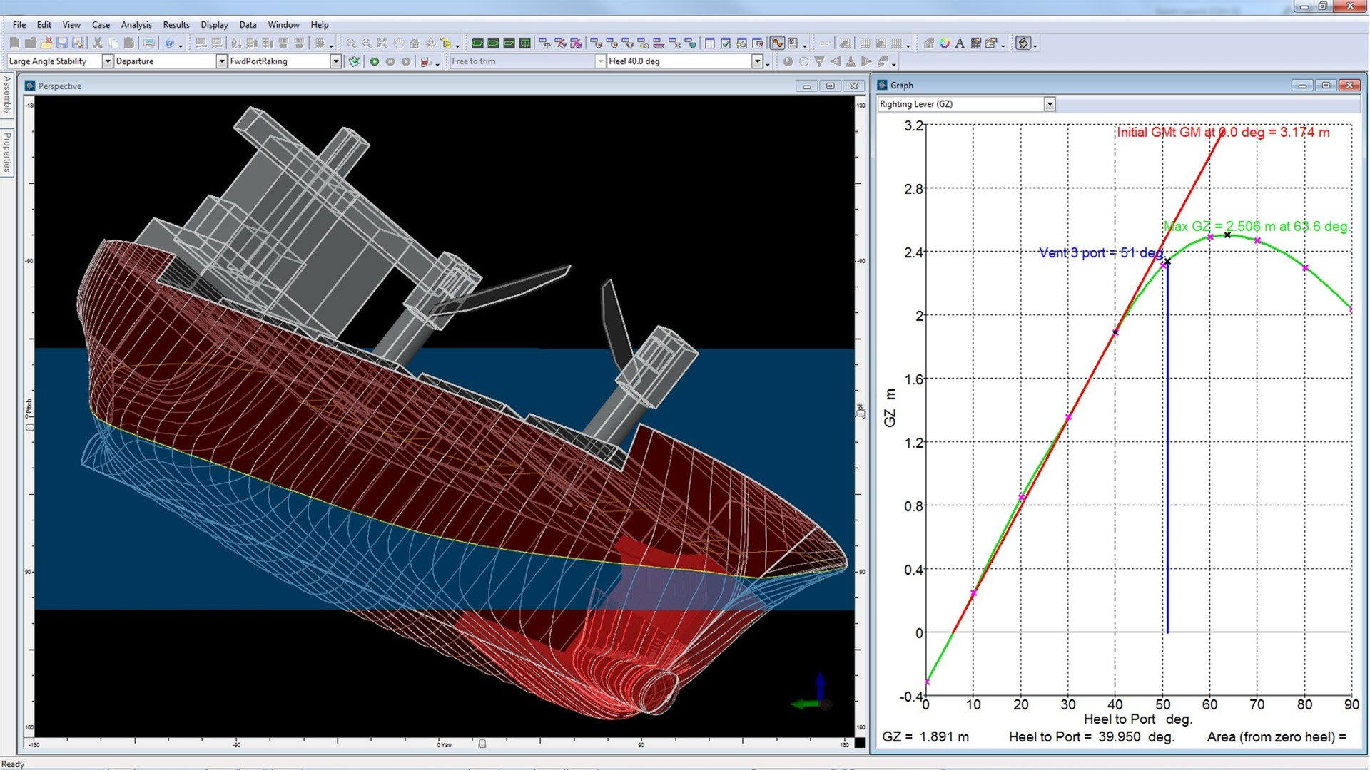 Bentley 3d Model >> Vessel Hull Design, Naval Architecture Software - MAXSURF