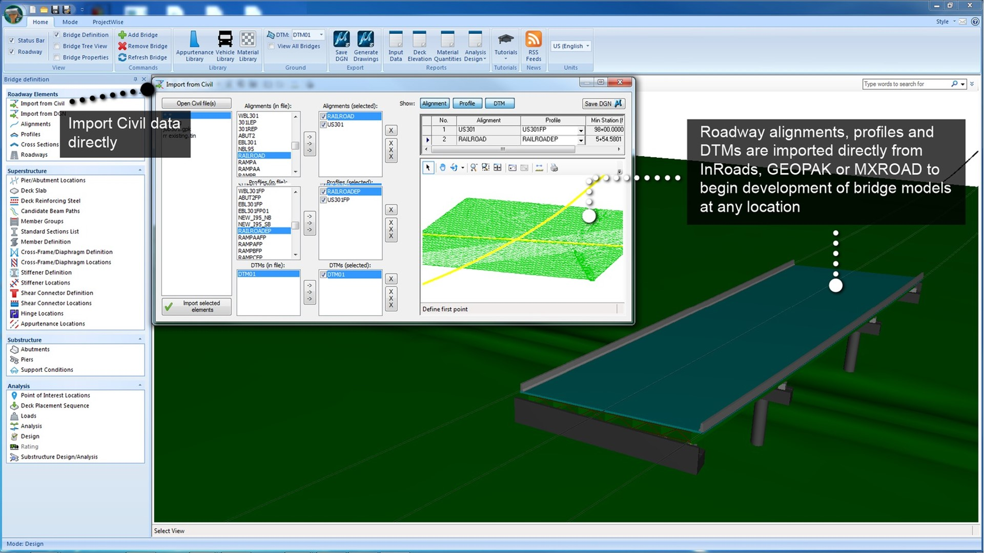 3d bridge design and analysis software openbridge modeler read more ccuart Image collections