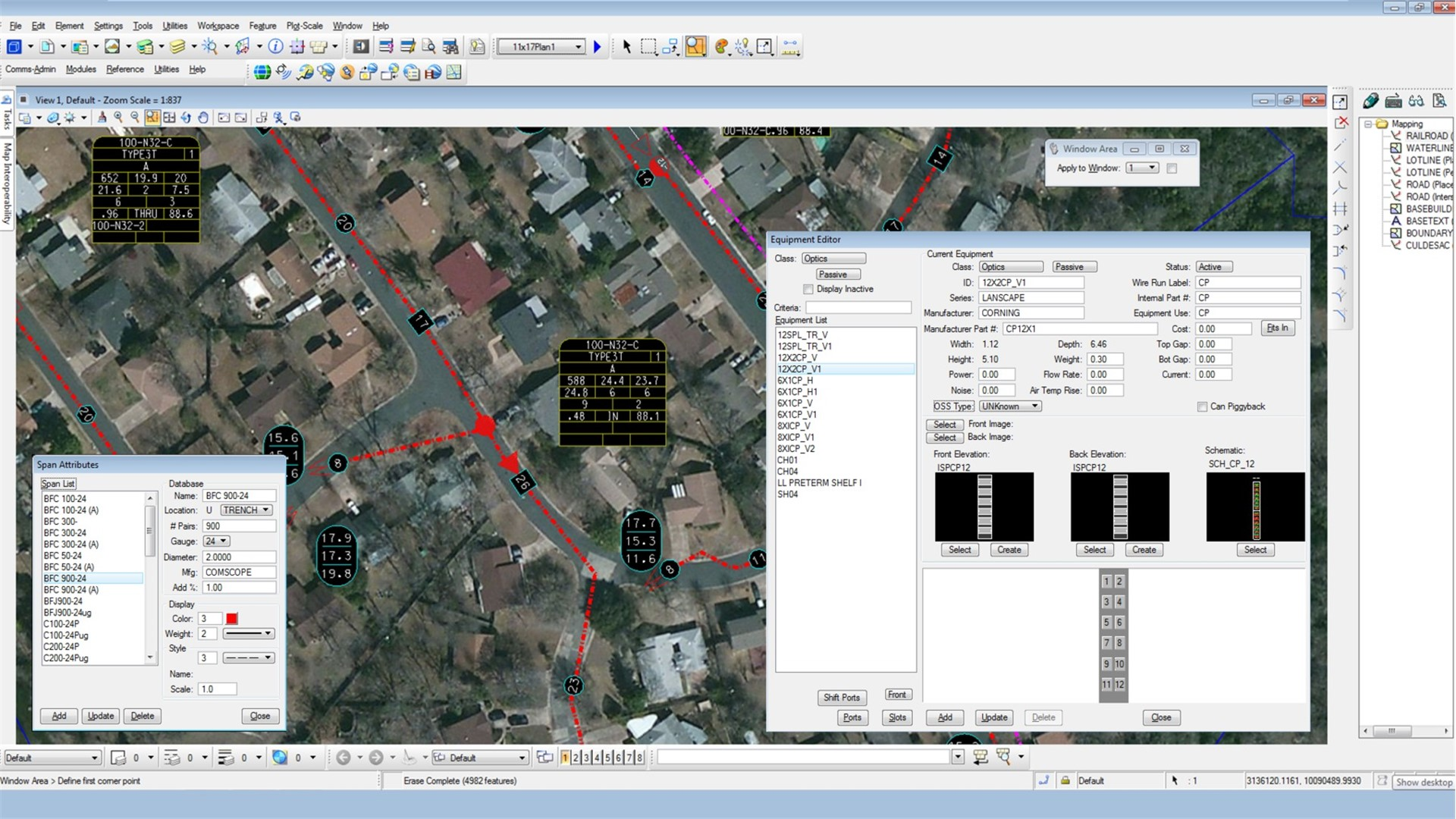 Coaxial network design and gis software bentley coax read more ccuart Gallery