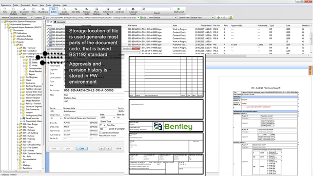 Create and manage project, CAD, and industry standards