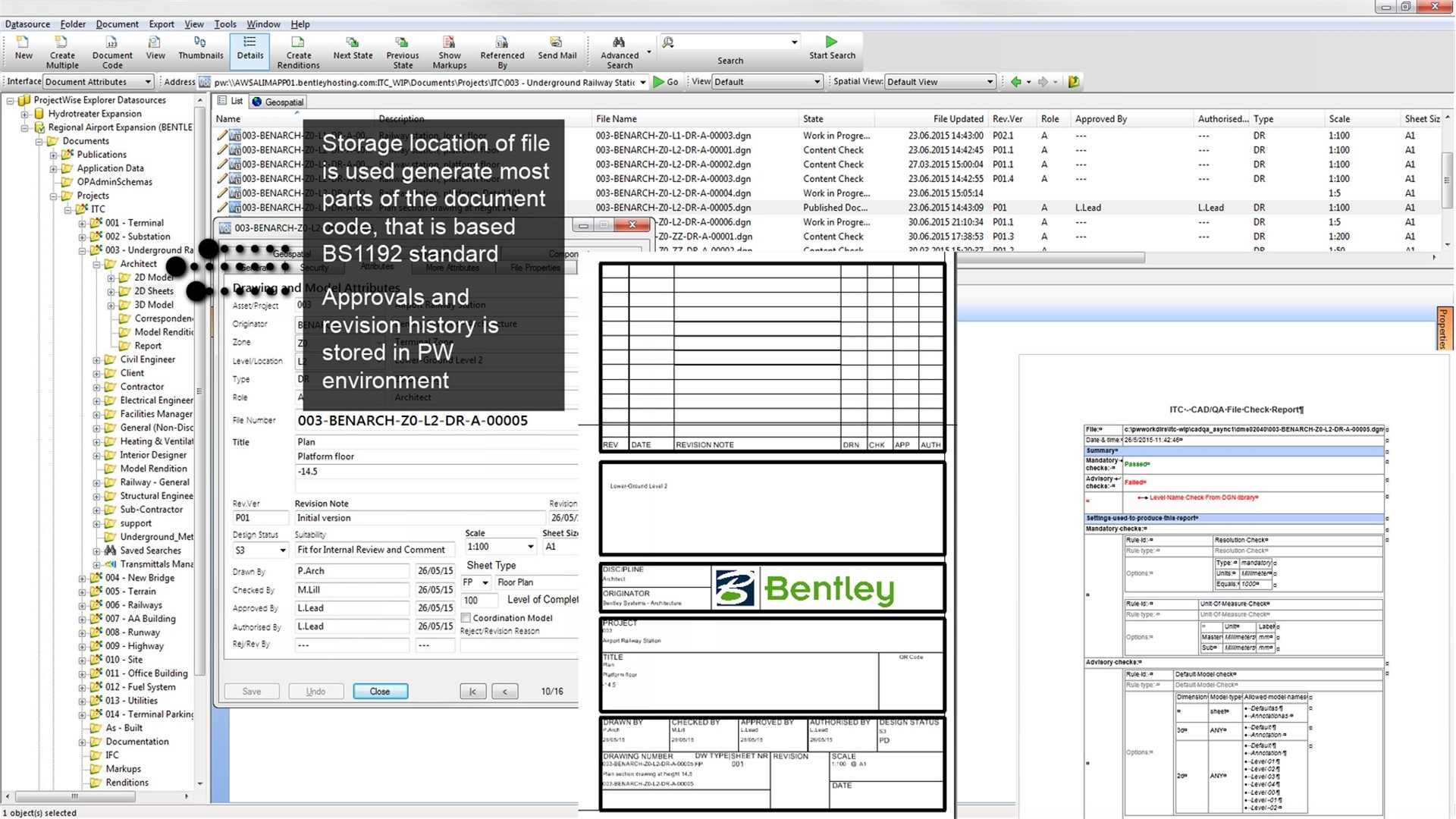 ProjectWise Design Integration - Worksharing and