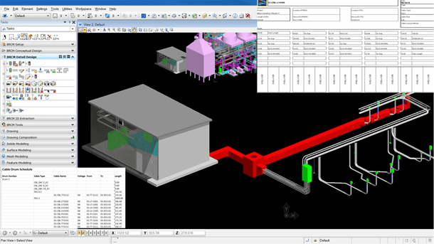 Create cable system models