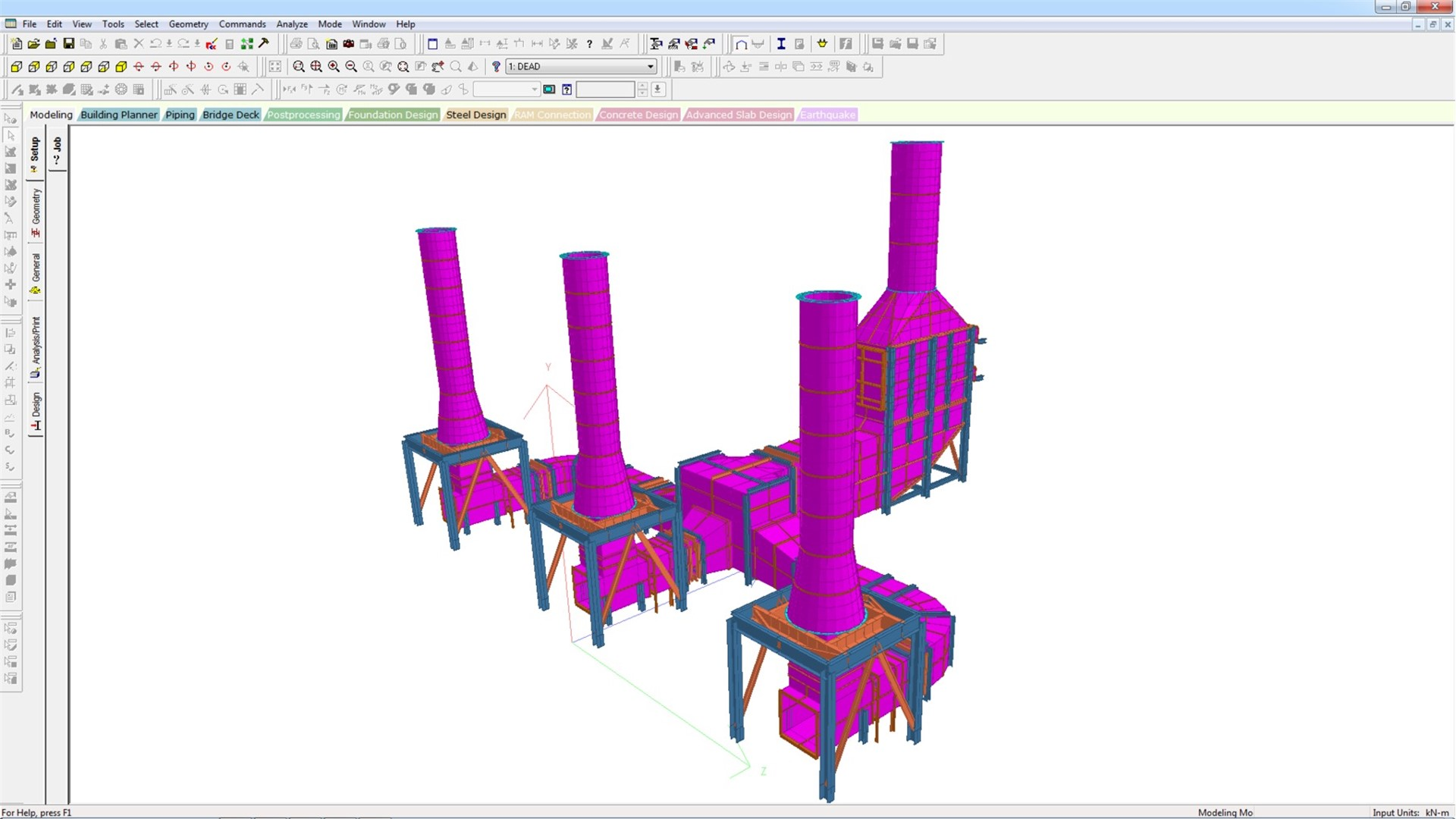 Building Plan Software Staad Pro Software De An 225 Lisis Estructural Y Dise 241 O 3d