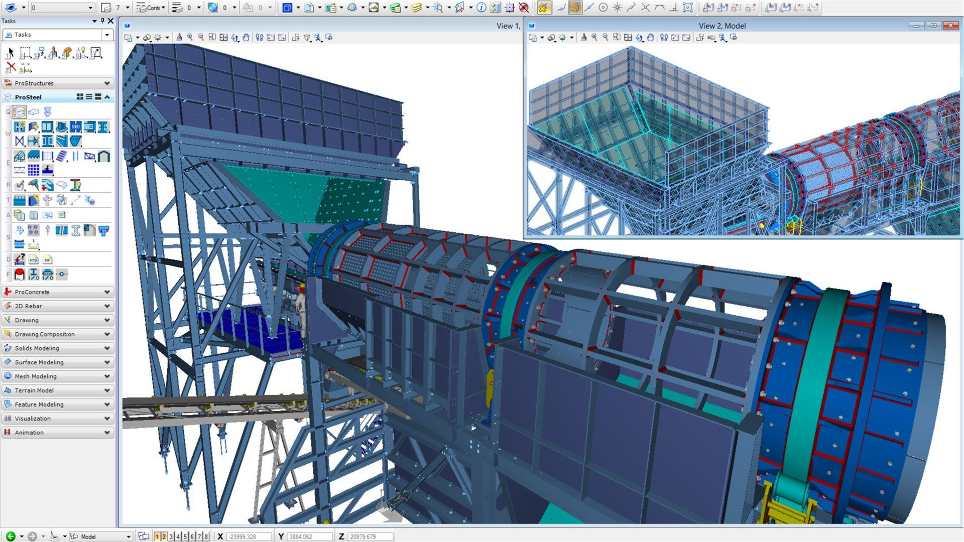 Steel Detailing Design And Fabrication Software Prosteel