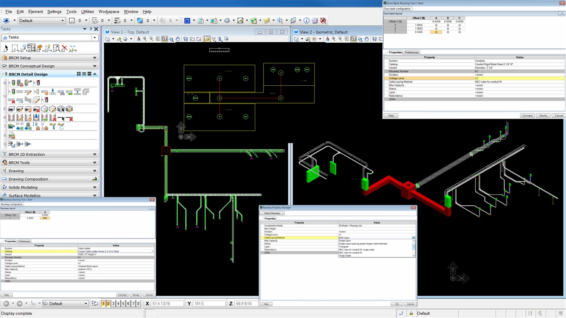 Bentley raceway and cable management design software for Planning software free