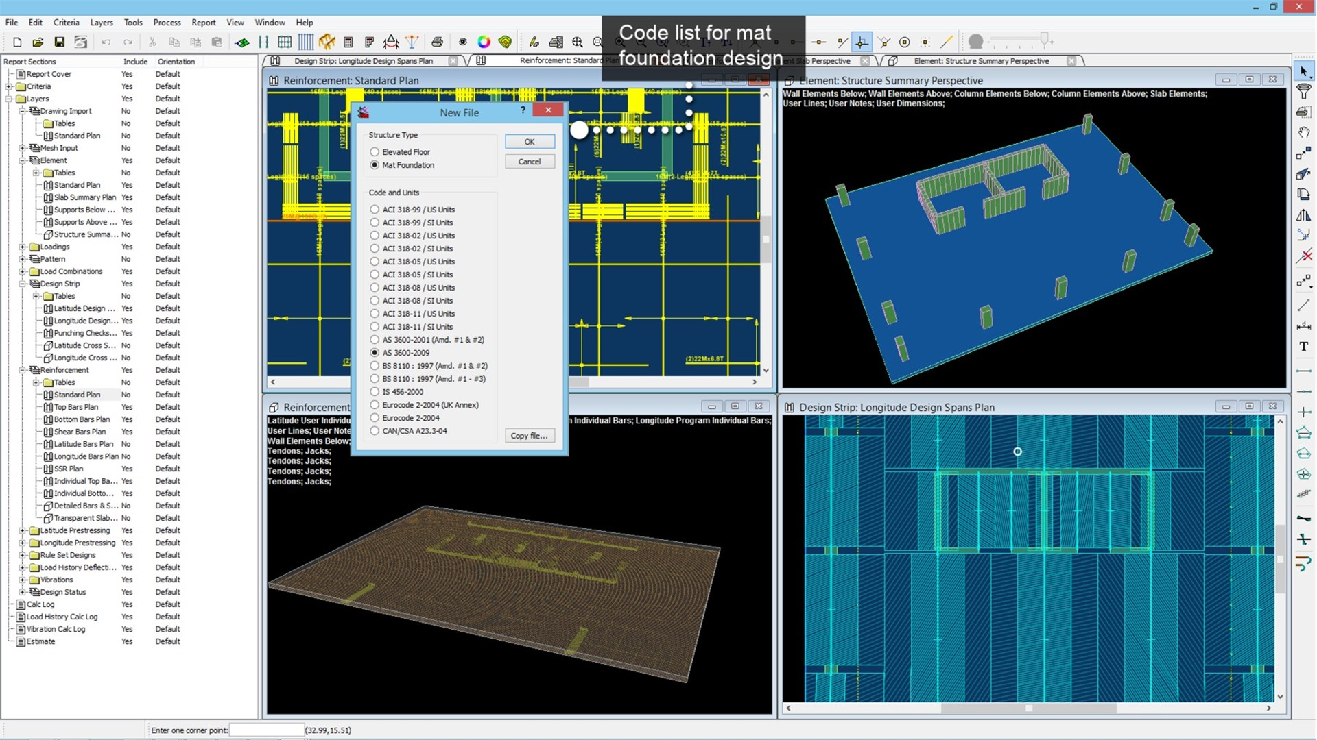 Post-Tensioned, Reinforced Concrete Slab Design Software – RAM