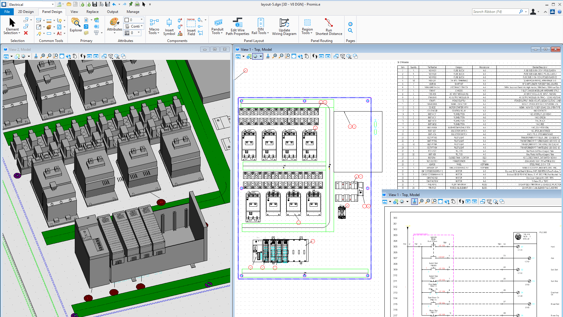 Software f r elektro und steuerungssystemplanung promis e for Commercial design software