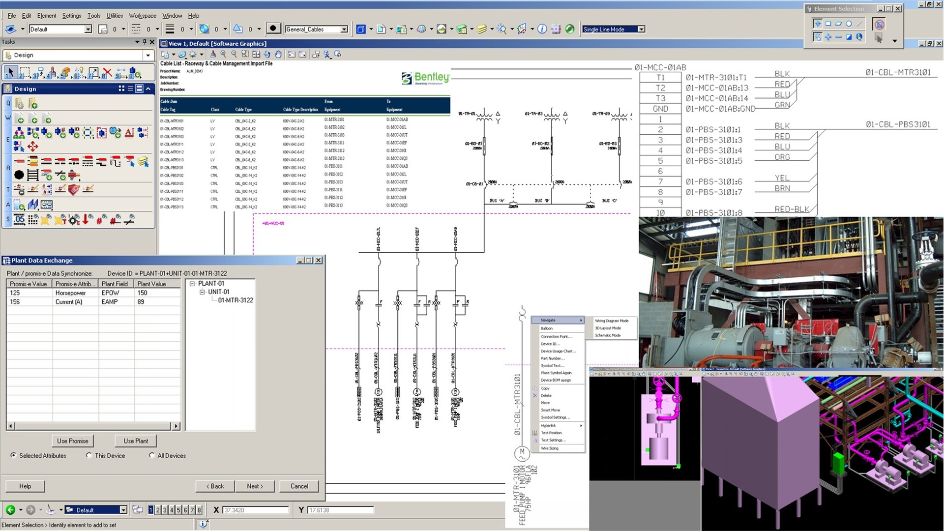 Electrical and Control System Design Software - Promis e