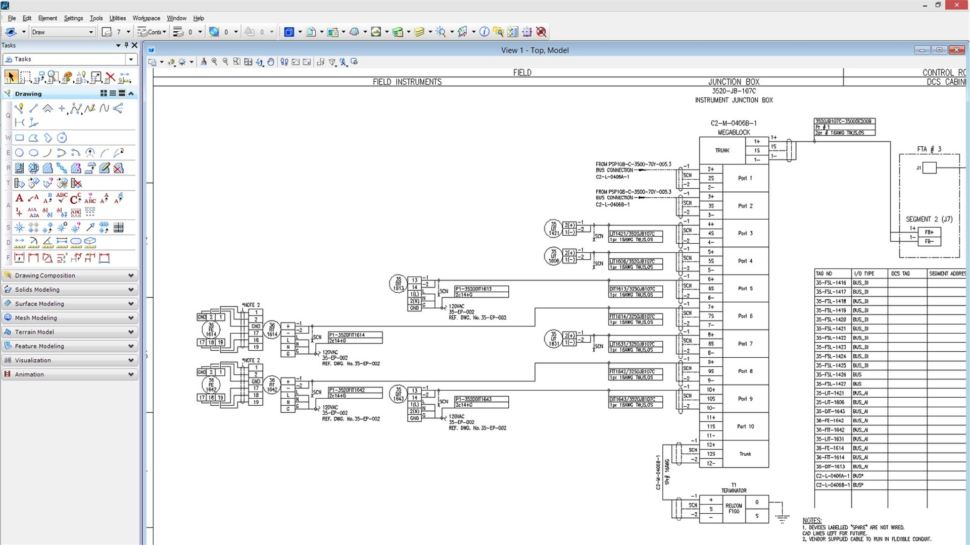 process plant control system design software