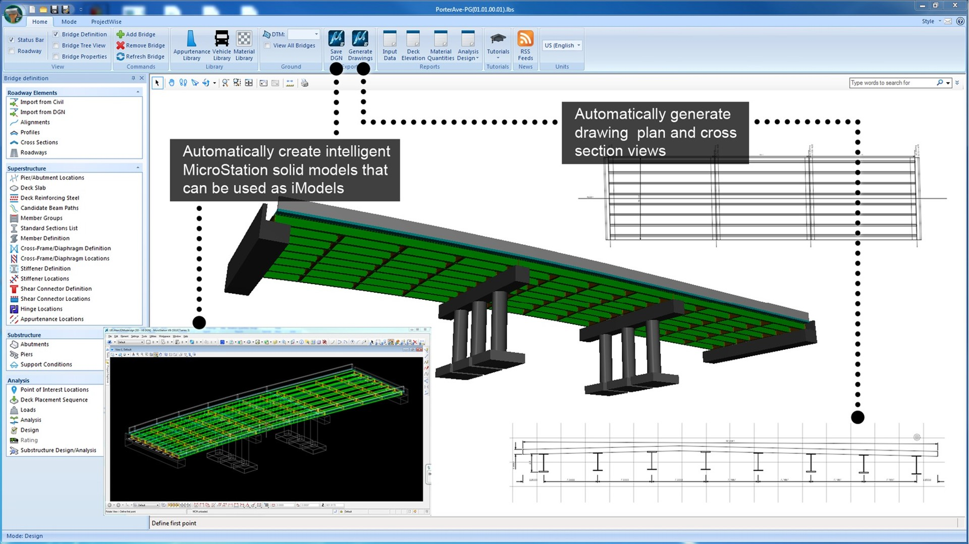 Load rating analysis and modeling software lars bridge capabilities ccuart Images