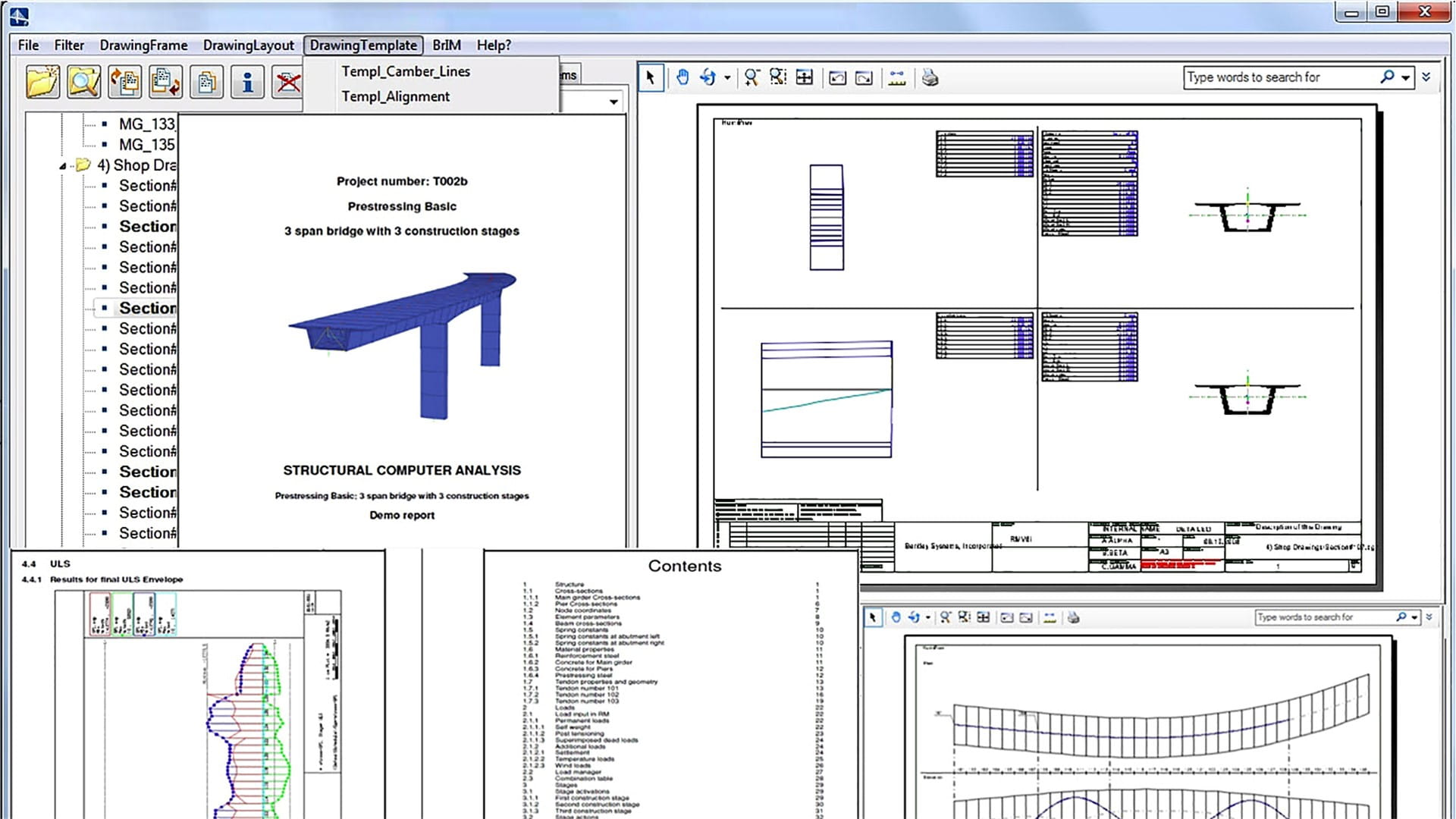 Bridge Design Analysis Construction Software Rm How To Draw Moment Diagrams Reviewcivilpe This Is A Modal Window Can Be Closed By Pressing The Escape Key Or Activating Close Button