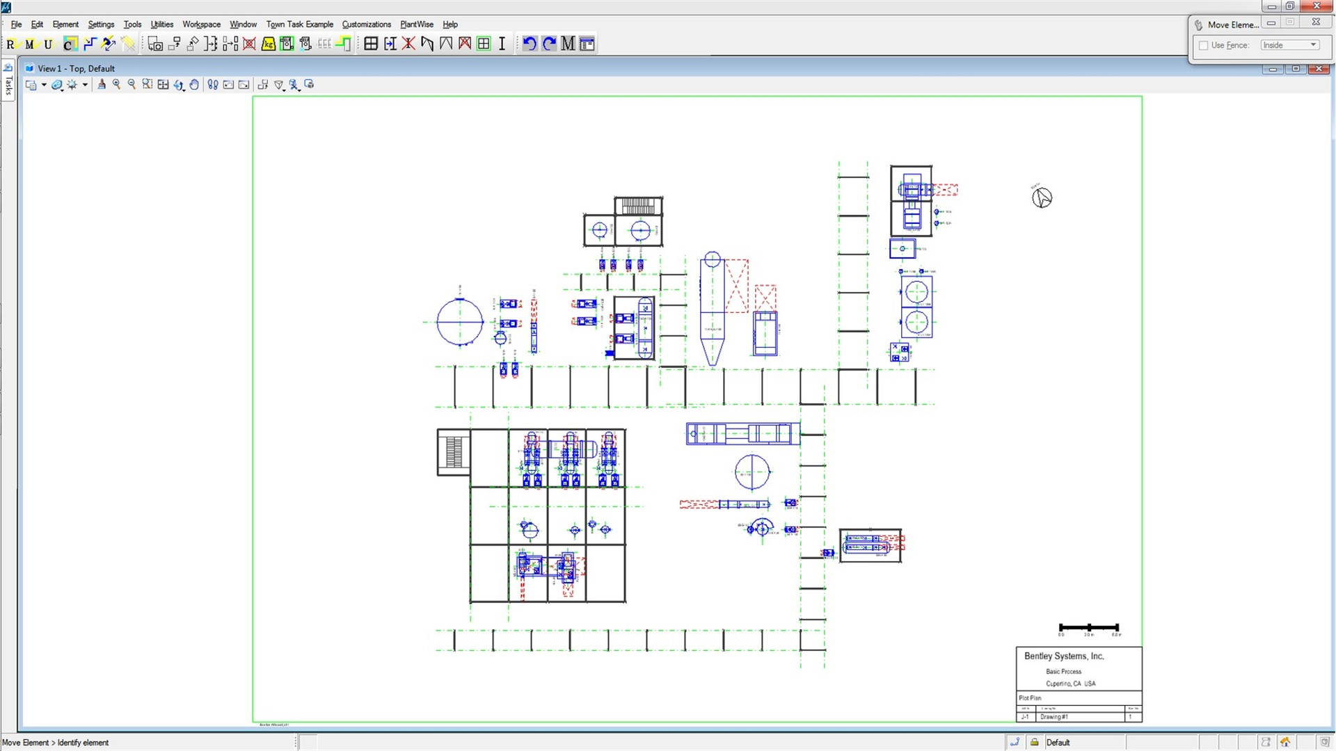 Hvac Drawing Layout 3d Process Plant Design Software Bentley Plantwise This Is A Modal Window Can Be Closed By Pressing The Escape Key Or Activating Close Button