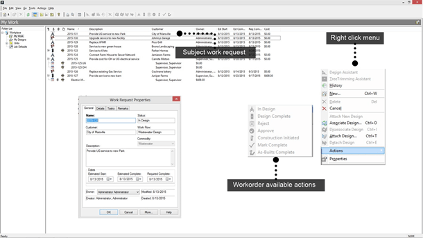 Integrate with work management systems