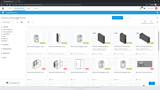 Manage digital components centrally