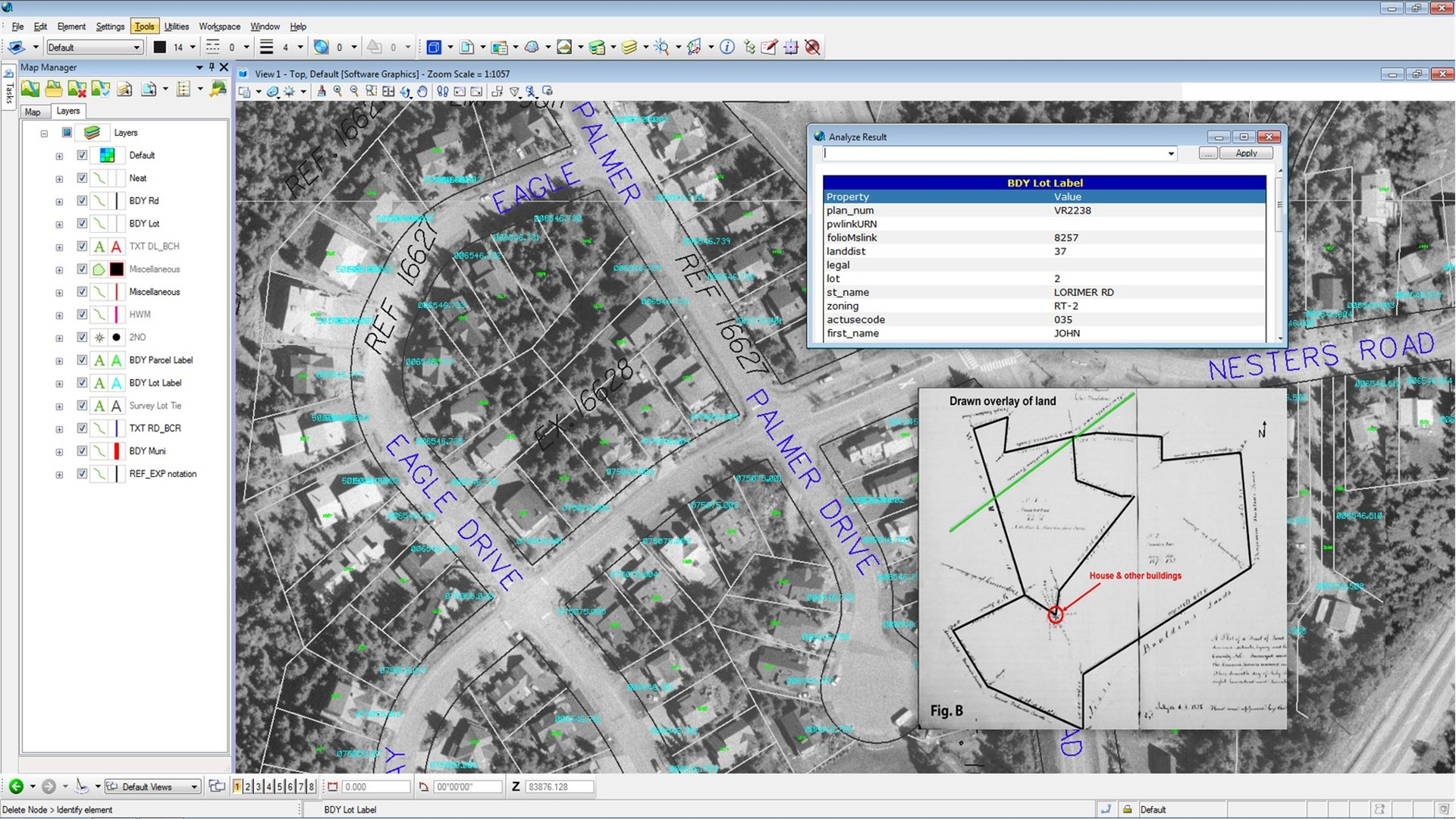 2d 3d gis and mapping software bentley map for Building mapping software
