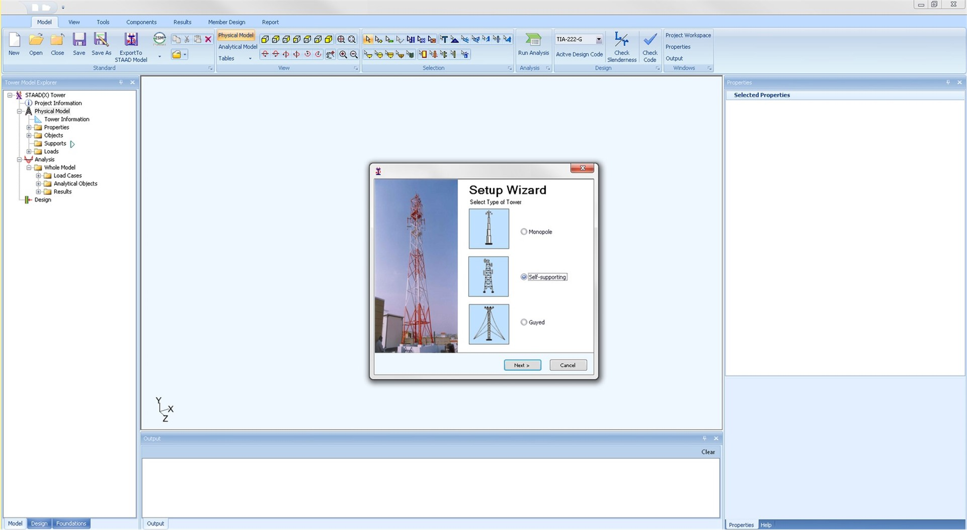 Communication tower design analysis software staad tower this is a modal window this modal can be closed by pressing the escape key or activating the close button malvernweather Gallery