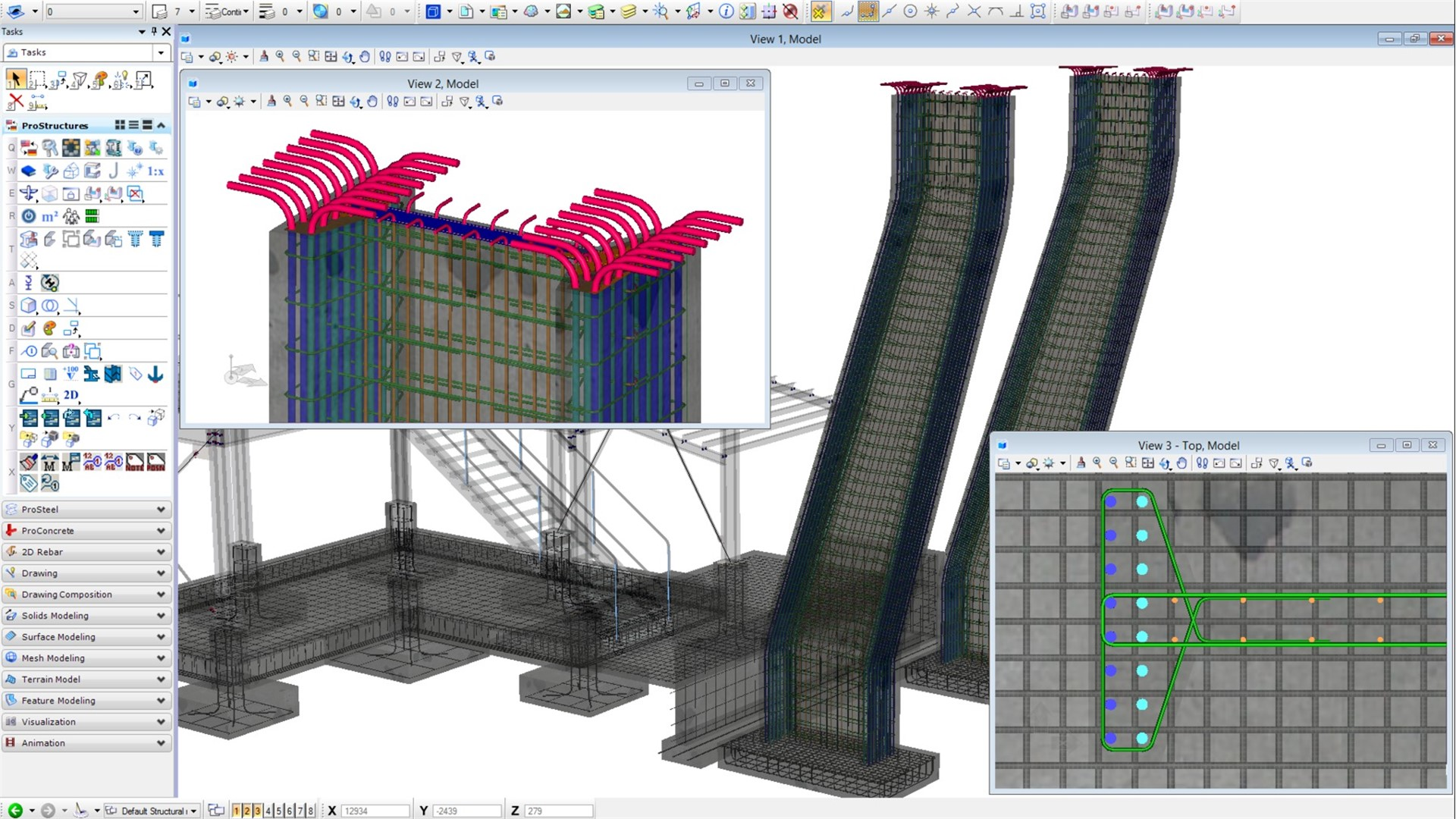 Steel and Concrete Design, Modeling Software - ProStructures