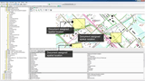 Navigate project data by spatial location