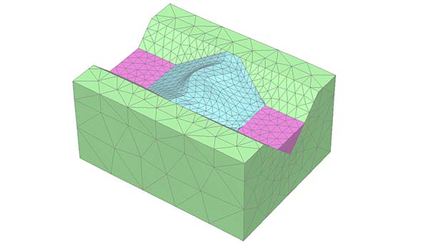 PLAXIS 3D Advanced-model-boundary-conditions