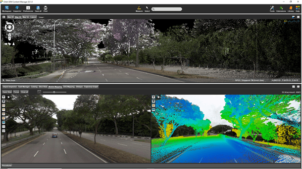Process and Colorize Point Cloud data for sharing
