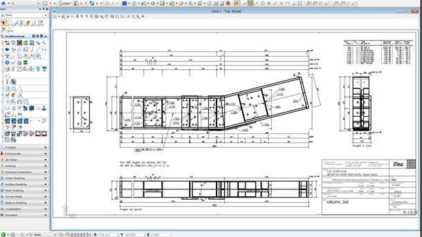 Produce steel fabrication drawings