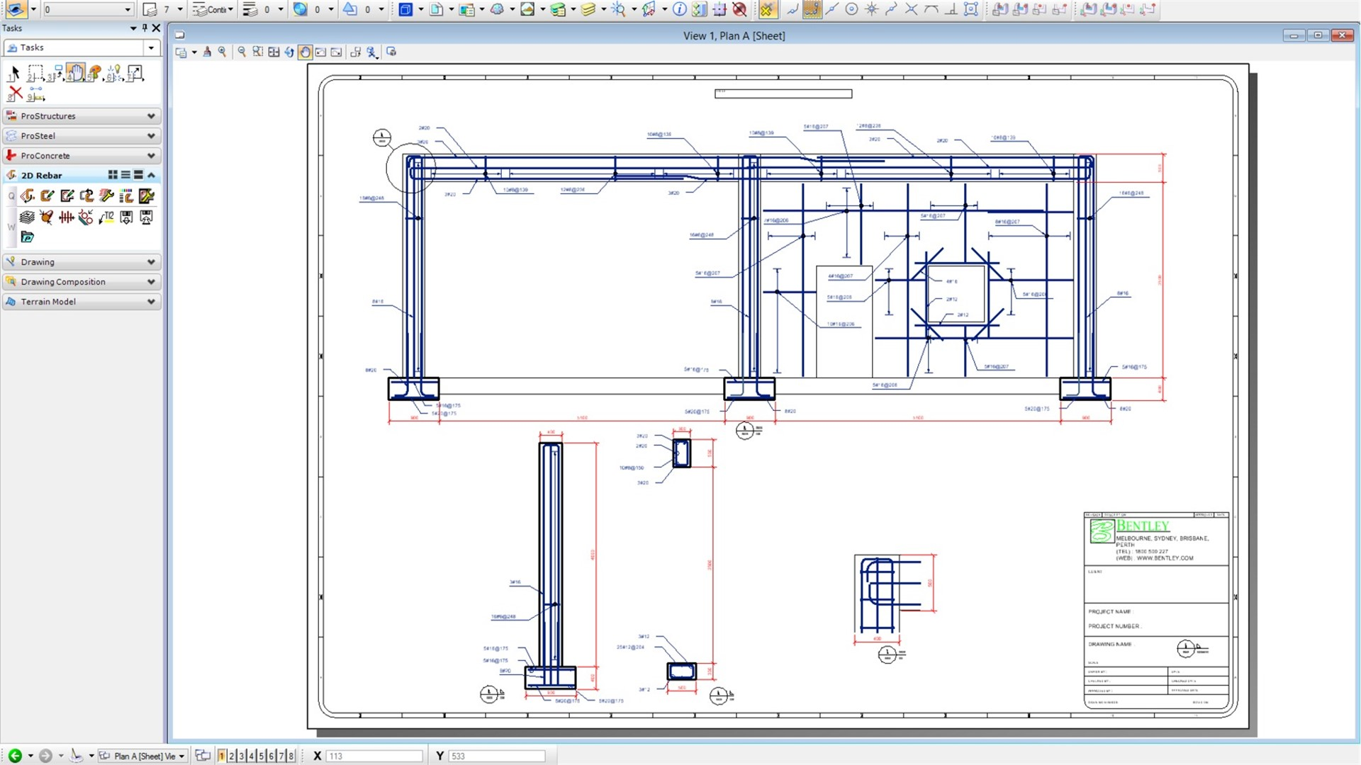 Reinforced Concrete Modeling And Detailing Software