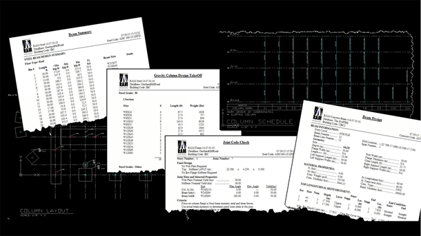 Produce structural design documentation