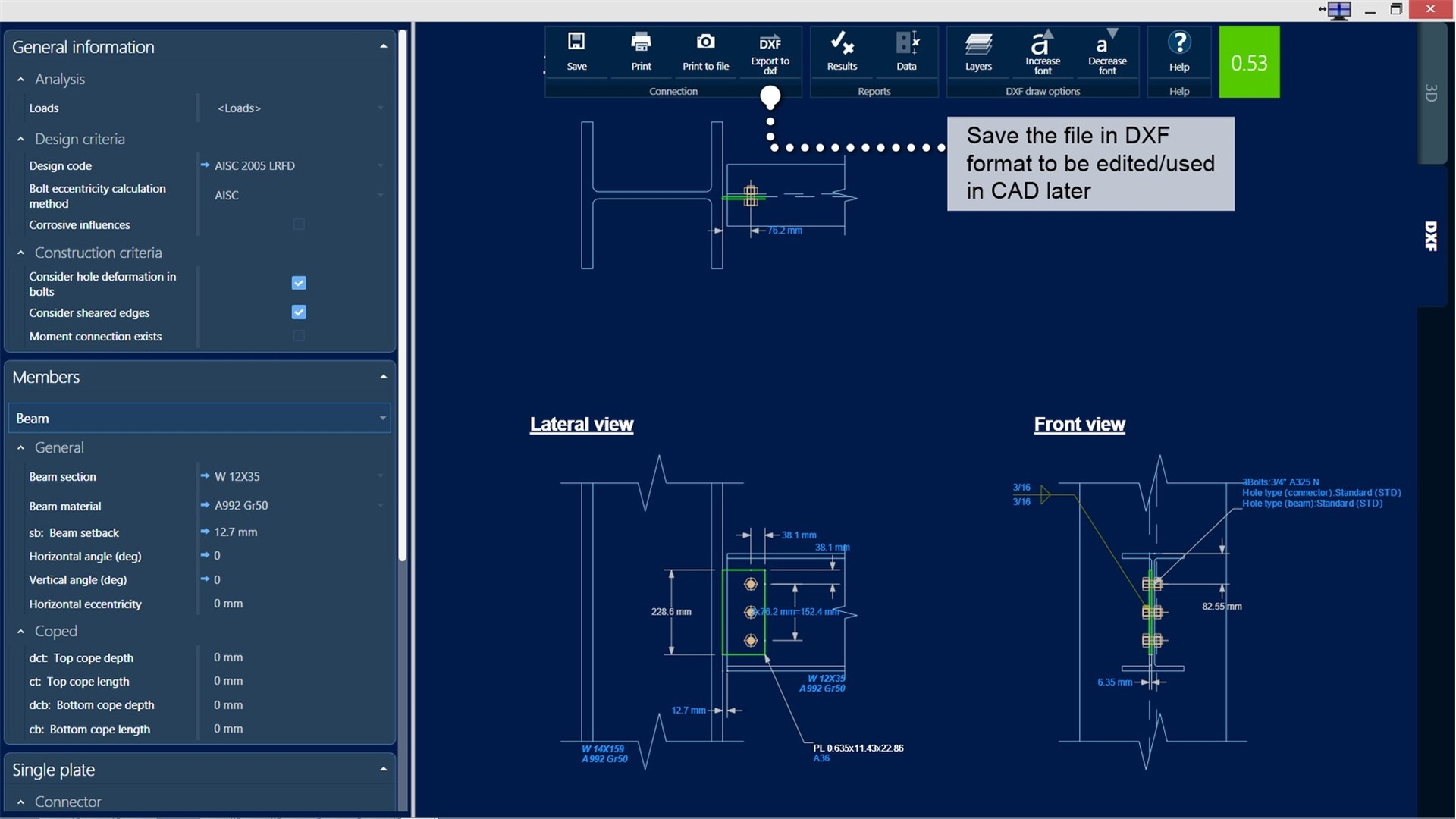 Structural Steel Connection Design Software Ram Connection