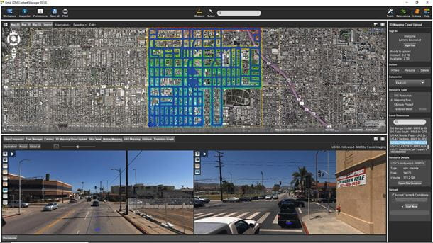 Upload and share 3d mapping data