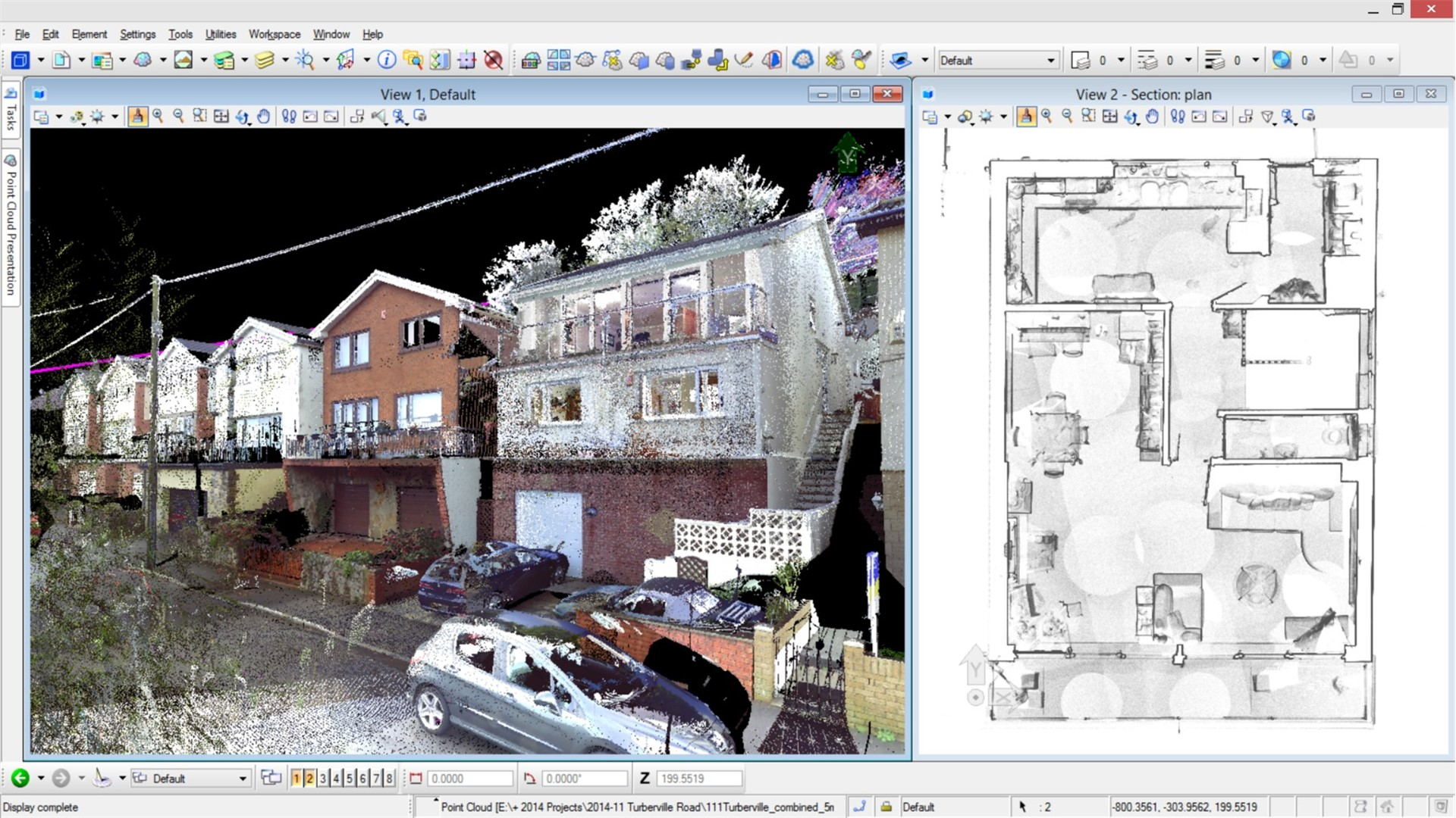 Point Cloud Visualization App - Bentley Pointools View