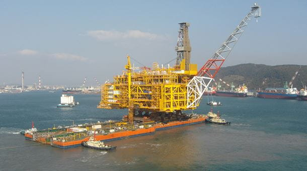 Gallery_Offshore_Project_Image_Dockwise_Award Submission_SHWE Topsides Transportation