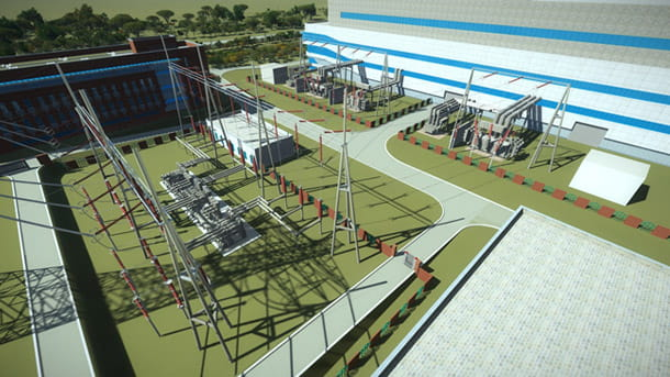 Thermal power plant site