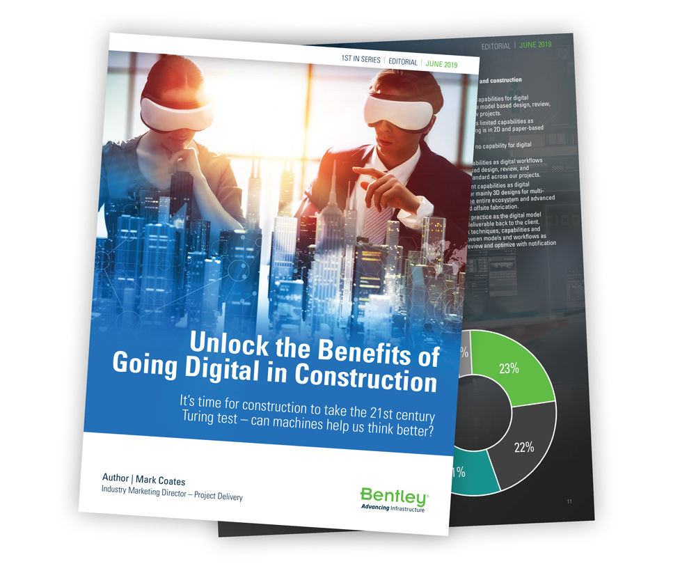 Unlock The Benefits of Going Digital in Construction Whitepaper Thumbnail Image