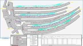Streamline boarding and alighting conditions for multiple transport scenarios
