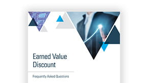 Earned Value Discount Frequently Asked Questions