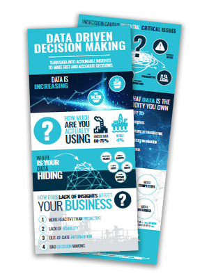 Infographic thumbnail data driven decision making
